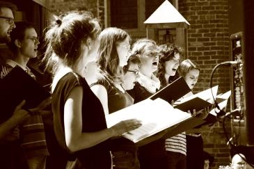 Der Chor Cantate Domino (c) Franka Machann