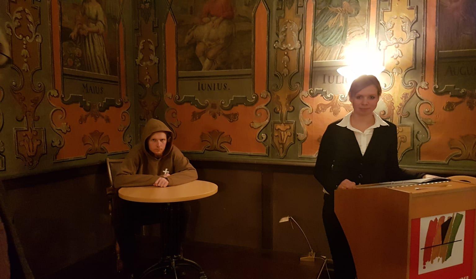 Theater-Vortrag im Kloster Lamspringe